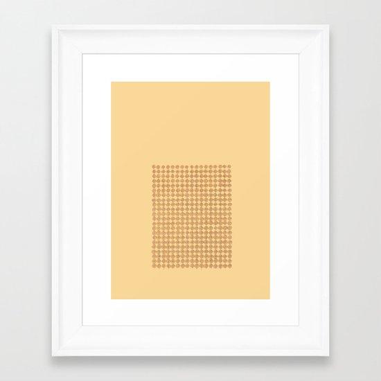 Concents Framed Art Print