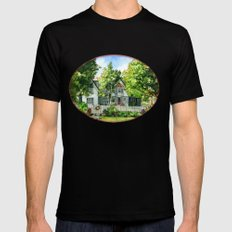 The Red Door SMALL Mens Fitted Tee Black