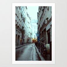 Avenues & Alleyways Art Print