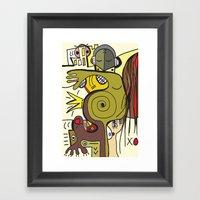 """what Sally Smith Saw … Framed Art Print"