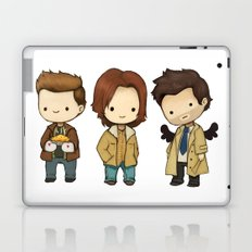 Chibi Dean Sam Castiel Supernatural Laptop & iPad Skin