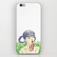 Pea iPhone & iPod Skin