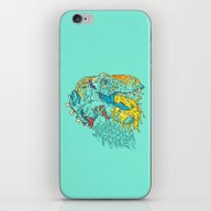Jurassick Puke iPhone & iPod Skin