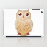 Owl Collage #5 iPad Case