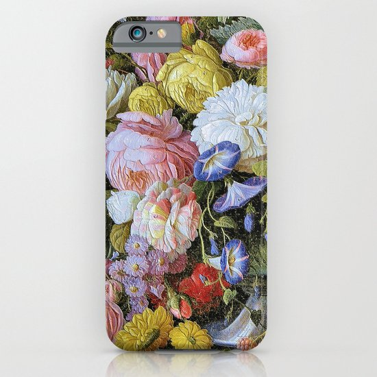 Vintage Varnish- Flowers&Fruit iPhone & iPod Case