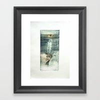 Porfiria Sadness Framed Art Print