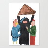 Pirâmide. Canvas Print