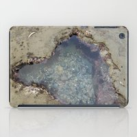 the heart shaped tide pool  iPad Case
