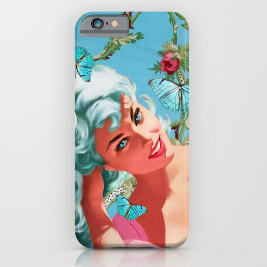 BLUE SKEYES iPhone & iPod Case
