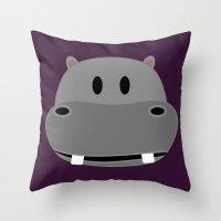 Frank's Mugshot Throw Pillow