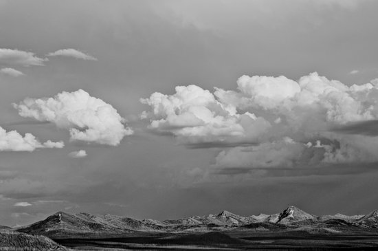 Yellowstone Wyoming Sky Art Print