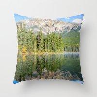 Pyramid Lake Throw Pillow