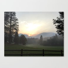 Edge of Six Rivers National Forest from Etna, CA Canvas Print