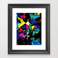 Assorted Shapes And Colo… Framed Art Print
