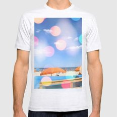 Beach Party Mens Fitted Tee Ash Grey SMALL