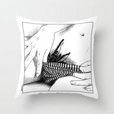 asc 472 - L'heure du repas (Feeding time) Throw Pillow