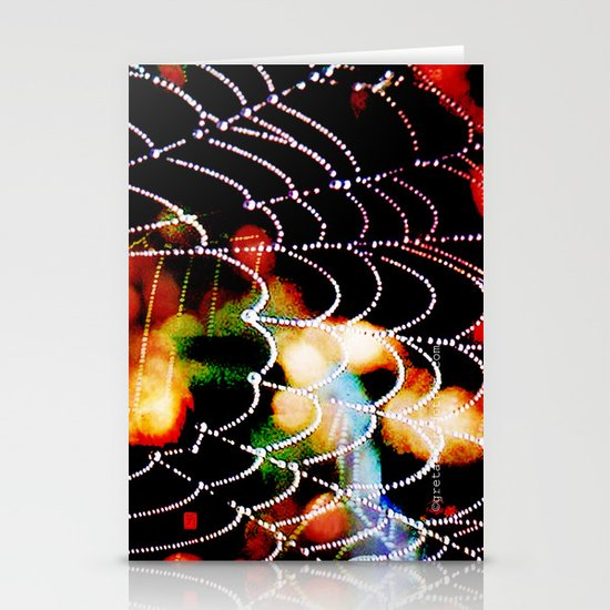 spider love Stationery Card