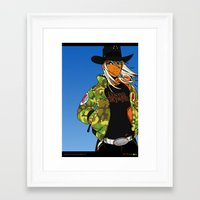 Alabama Girl - Camo Edition Framed Art Print