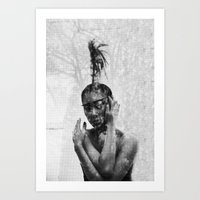 Outsider1 Art Print