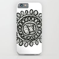 iPhone & iPod Case featuring Doily #1 by KristinMillerArt