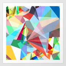Colorflash 5 Art Print