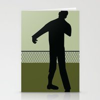 walking dead Stationery Cards featuring Walking Dead by Drix Design