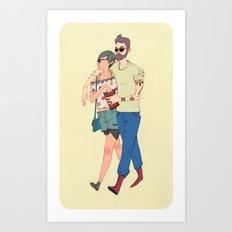 Vanitas Couple Art Print