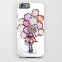 Float Away // Fashion Il… iPhone 6 Slim Case
