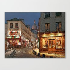 Streets of Paris I Canvas Print