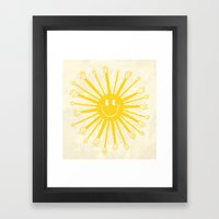 Heat Wave Framed Art Print