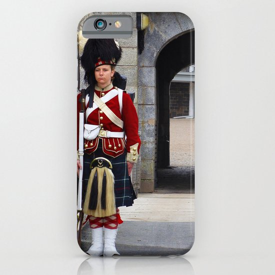 Guard of the Halifax Citadel iPhone & iPod Case