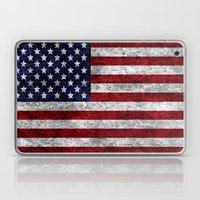 USA Grunge Flag Laptop & iPad Skin