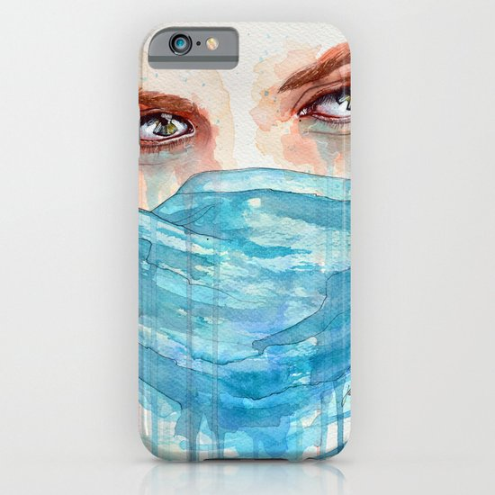 Forgotten, watercolor painting iPhone & iPod Case
