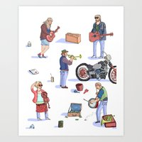 Music Poster! Art Print