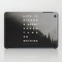 Adventure or Nothing iPad Case