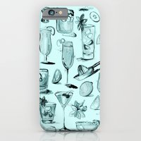 Summer Cocktails in Blue iPhone 6 Slim Case