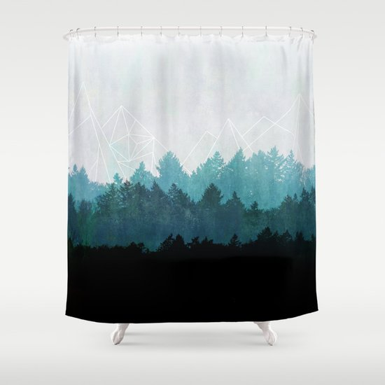 woods abstract shower curtain by mareike b hmer society6