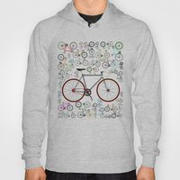 Love Fixie Road Bike Hoody