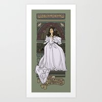 Theatre De La Labyrinth Art Print
