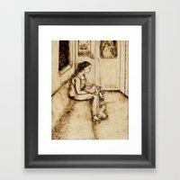 Enjoyment Framed Art Print