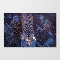 New York City Midtown Ma… Canvas Print