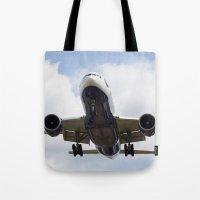 British Airways Boeing 777 Tote Bag