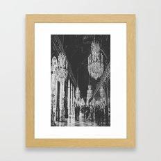 mirror room Framed Art Print