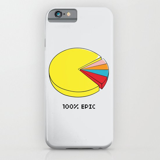 Epic Pie Chart iPhone & iPod Case