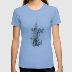 Metro Womens Fitted Tee Athletic Blue SMALL