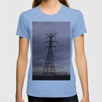 Signal Womens Fitted Tee Athletic Blue SMALL