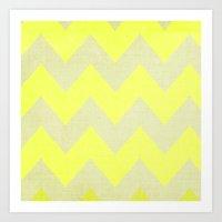 Jonquils & Daffodils - Y… Art Print