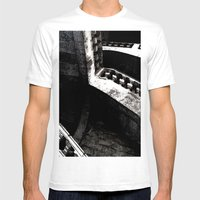 -087 Mens Fitted Tee White SMALL