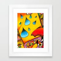 There Framed Art Print