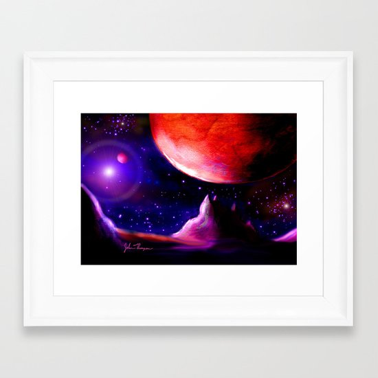 Another world 5 Framed Art Print